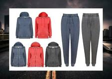 TOKYO LAUNDRY BURN OUT TRACKSUIT JOGGERS JOGPANT ZIP THRU OVER HEAD HOODIE