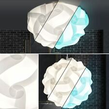 Design Suspendu Luminaire de Plafond Blanc Led Rvb Intensité Variable