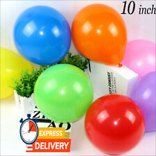 "QUALITY LATEX BALLOONS 10""  /Standard FOR Decoration Birthdays Parties BALOONS"