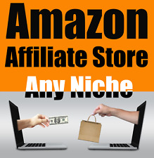 Amazon Affiliate Automated Store Any Niche Hosting Free SSL