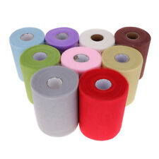 Colorful 100 YDS Tulle Roll Spool Tutu DIY Fabric Wedding Gifts Craft Party