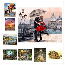 Canvas DIY Digital Hand Oil Painting By Number Kit Canvas Home Art Work Decor