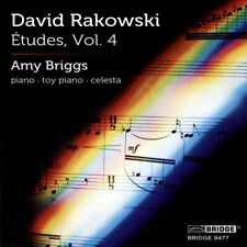 Amy Briggs - David Rakowski: Études, Vol. 4