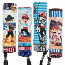 579667Pirate Torch with 6LED, Assorted, Metal, Assorted Colors, 2.5x 2.5