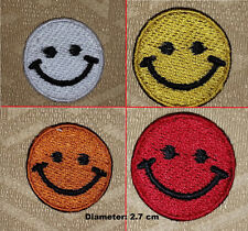 Smiley Faces Mini Iron-on/ Sew-on Embroidered Patch / Badge/ Logo
