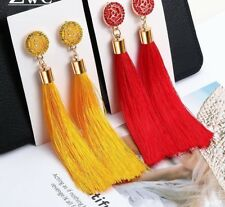 Tassel Earrings New Fashion For Women Wedding Party Charm Crystal Jewelry Gifts
