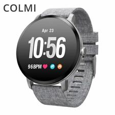 Smart Watch Waterproof Tempered Glass Fitness Tracker Heart Rate Monitor