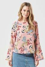 SugarHill New Arrival Ladies Eliana Hand Drawn Floral Top (Pink) RRP £39.00
