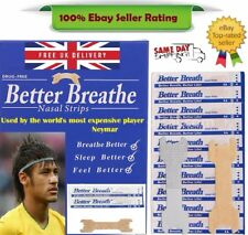 Nasal / Nose Strip - Breathe Right Better Easy *Snoring & Athlete aid - Europe