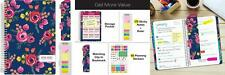 """HARDCOVER Academic Year Planner 2018-2019 - 5.5""""x8"""" Daily Planner/Weekly..."""