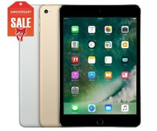 Apple iPad Mini 4 WiFi - Cellular (Unlocked) 16GB 32GB 64GB Gray Silver Gold (U)