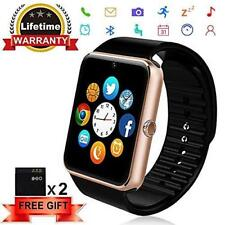 Bluetooth Smartwatch for Android and IOS phones with SIM Card Slot, Camera