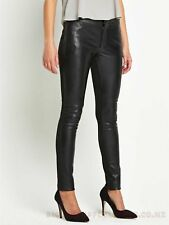 Womens Hugo Boss Skinny Faux leather and Jersey Stretch Trouser UK 14 BNWT