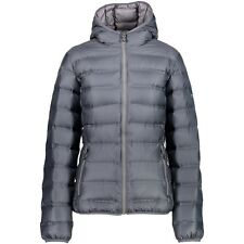 Campagnolo Mujer Chaqueta Fix Hood - Plumón para (Graffite-Argento)