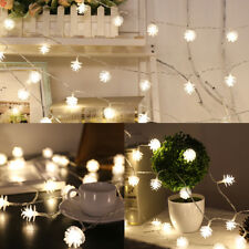 2M 10 LED BATTERY OPERATED LIGHTS STRING FAIRY PARTY XMAS WEDDING LIGHT OUTDOOR