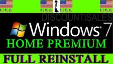(120+ sold) - Windows 7 Home Premium (HP) FULL INSTALL**Restore**Repair*(8-10)