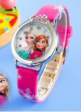 Fashion Watch New Cartoon Children Kids Rubber Leather Girls Accessories Gifts