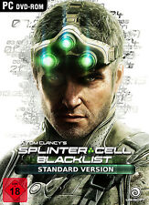 Tom Clancys Splinter Cell Blacklist - Uplay - PC - DVD / Key - NEU & OVP