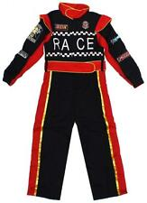 Boys Costume Race Car Driver Fancy Dress Sport Dressing Up Outfit 6 to 12 Years