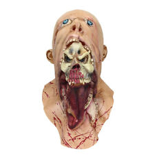 Halloween Party Home Decoration Toys Horror Rotten Bloody Mask Props Toys Supply