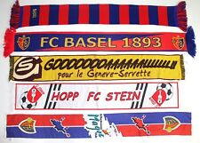 cbd17aeec09 Basel Scarf Servette Stein Schal Vintage Football Scarves Retro Switzerland  Old