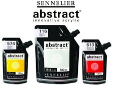 COLORI ACRILICI  SENNELIER  ABSTRACT 500 ML.