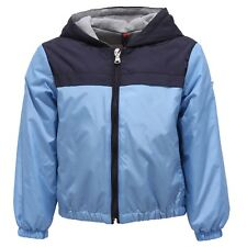 2767Y giacca antivento bimbo boy MONCLER IZON blue wind stopper jacket