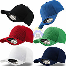 Cappellino UOMO Donna ATLANTIS CAPS Estate POLIESTERE Colorato BASEBALL Unisex