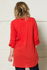 50% OFF SALE - Nomads Long Tunic Shirt in 100% Cotton - PH45 - Fair Trade