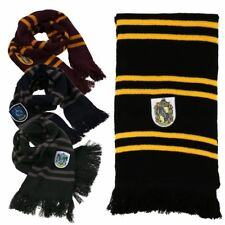 Harry Potter Scarf Cosplay large Gryffindor Hufflepuff Slytherin Ravenclaw New
