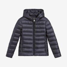 Moncler for Kids 'New Iraida' Down Jacket - Dark Navy