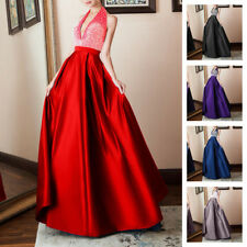 Women Backless Maxi Long Dress Prom Evening Party Cocktail Wedding Formal Gown