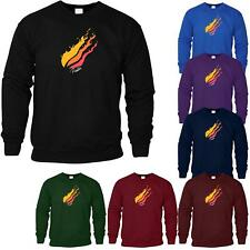 PrestonPlayz Kids Hoodie Funny Youtuber Gaming Mens Jumper Hooded Flame Logo