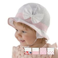 BRAND NEW LIGHT AND AIRY SUMMER HAT/CAP/BONNET FOR GIRL/BABY/TODDLER WITH BOW