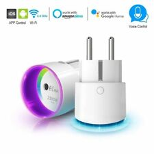Smart Plug With Socket Wireless Wifi Phone App Voice Control Home Remote Control