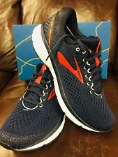 BRAND NEW IN BOX BROOKS GHOST 11 MENS RUNNING SHOES GREY NAVY RED WHITE 428