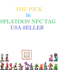 Collection up-to 16 - Splatoon - Amiibo NFC Tags - USA Seller