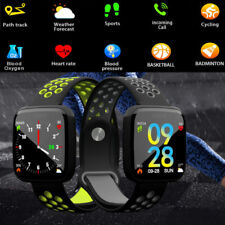 F15 Reloj inteligente Smart Watch Ritmo cardiaco Blood Pressure Fitness Tracker