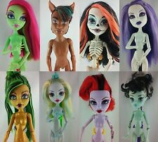 Monster High Puppen Shop 6 Basic Dolls Custom Repaint OOAK Jinafire Nefera Catty