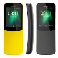 NEW NOKIA 8110 DUAL SIM 4GB 512MB RAM 4G LTE Banana Phone Unlocked Curved