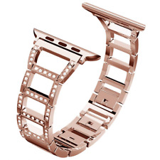 ITSHINY Compatible Apple Watch Strap 38mm 40mm, Adjustable Fashion Iwatch Bands