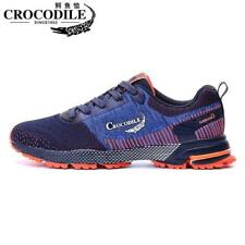 Crocodile Men Running Sneakers Breathable Sports Shoes Zapatilla Cushioning Jogg