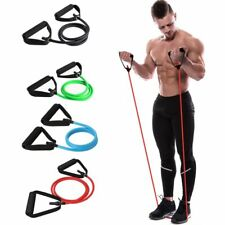 Yoga Pull Rope Resistance Bands Elastic Fitness Workout Gym Hanging Suspension