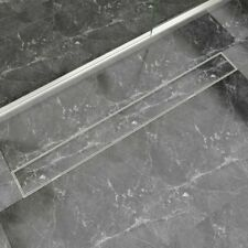 New Linear Shower Drain Stainless Steel Bathroom Floor Channel 6 / Size F&POST