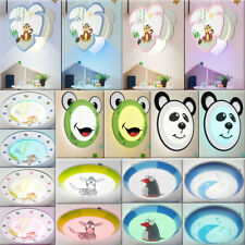 RGB Led Niños Techo Péndulo Luces Regulable Control Remoto Animales Pared