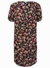 Dress Floral Patterned Ladies Silk Fashion Party Maxi Evening Ball Gown New