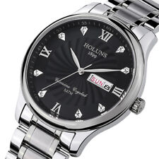 HOLUNS Luxury Steel Waterproof Quartz Wristwatches Best Gift Watches for Men