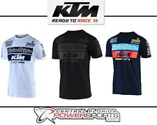 d4a0769f859 Troy Lee Designs TLD KTM Team Mens Short Sleeve T-Shirt All Sizes All Colors