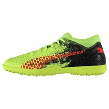 fa3c56e7a Puma Future 18.4 Astro Turf Football Trainers Mens Yellow/Red/Black Soccer  Shoes