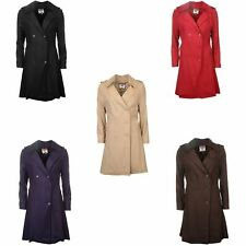 Lee Cooper Trench Coat Womens Jacket Outerwear